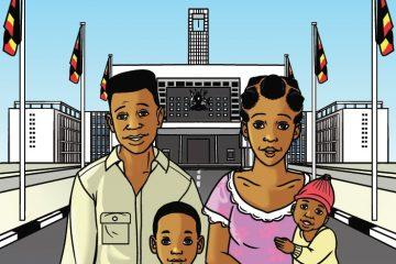 Comic Book Cover Image: Investing in Uganda's Future