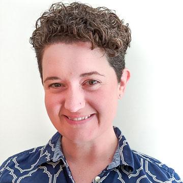Portrait of PRB staff member Stacey Belney, Program Finance & Op