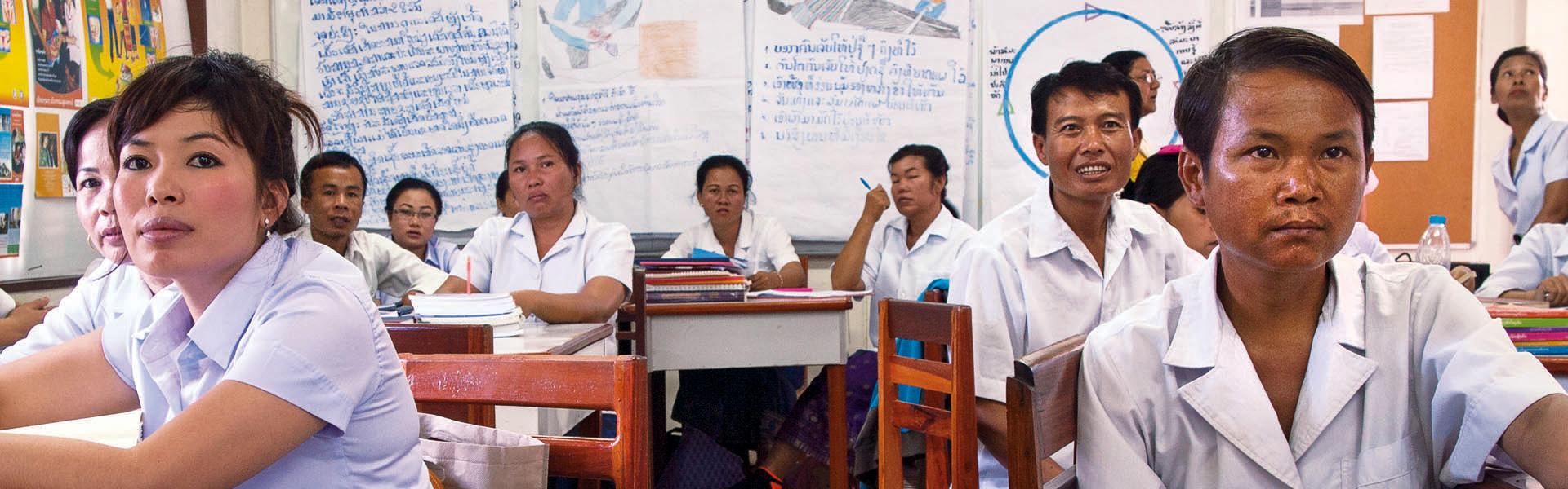Health Education in Laos