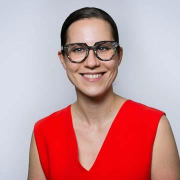 Portrait of PRB staff member Alana Barton for biography.