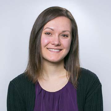 Portrait of PRB staff member Janine Gawel.