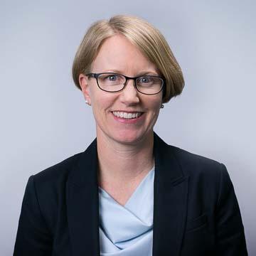 Portrait of PRB staff member Kristen Patterson.