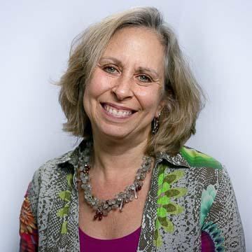 Portrait of PRB staff member Laura Wedeen.