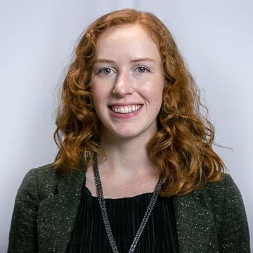 Portrait of PRB staff member Lillian Kilduff.