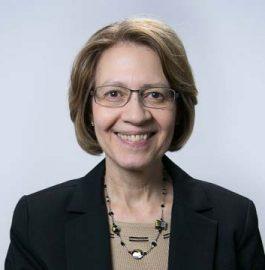 Portrait of PRB staff member Linda Jacobsen.