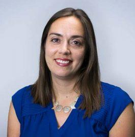 Portrait of PRB staff member Elizabeth Leahy Madsen.