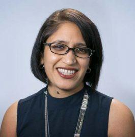 Portrait of PRB staff member Reshma Naik.