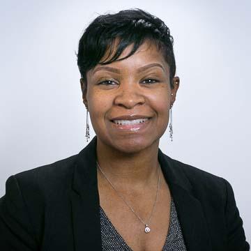 Portrait of PRB staff member Shay King.